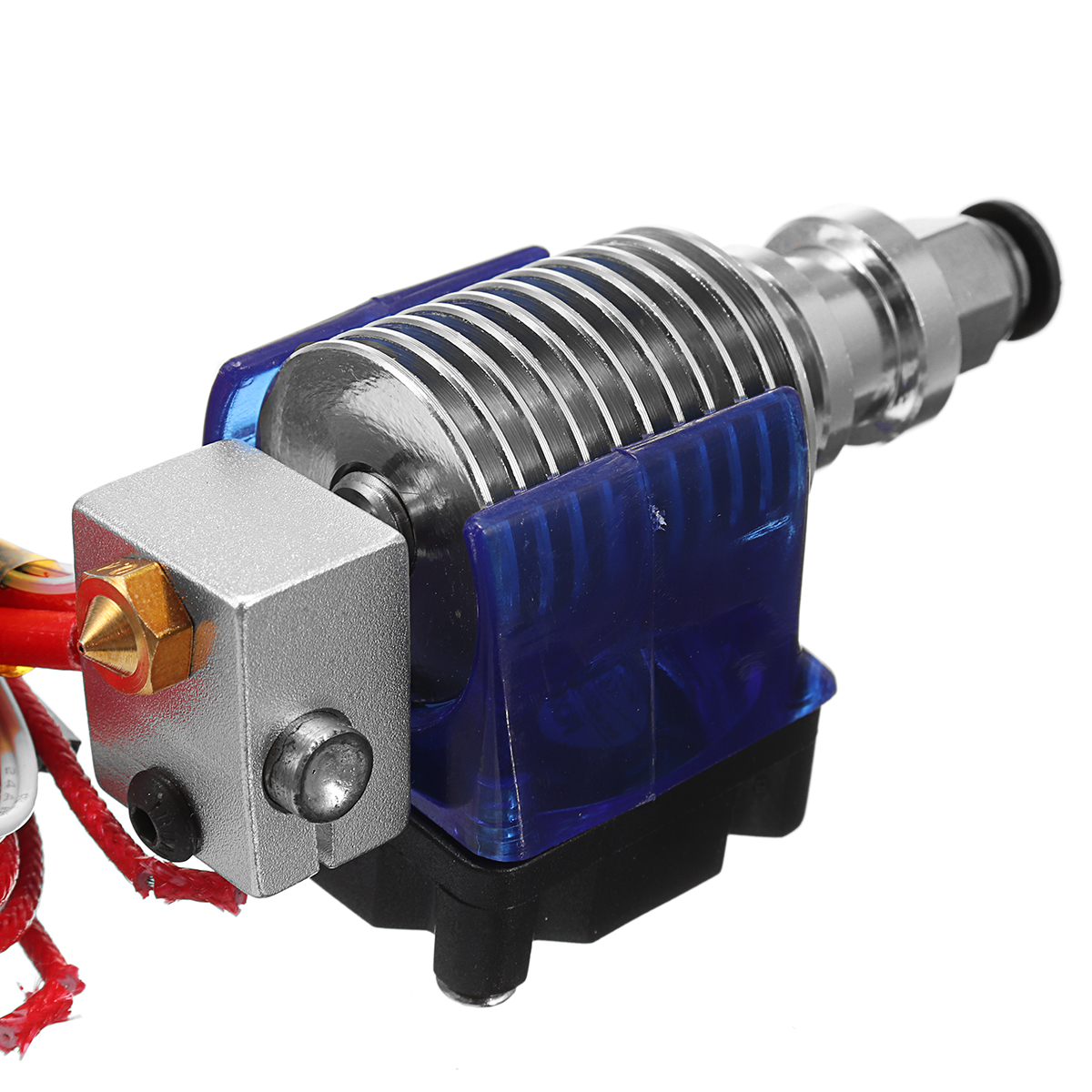 0.4mm J-head Hotend Extruder Remote Kit Suppport 1.75mm PLA/ABS Filament with Cooling Fan + Fan Cove