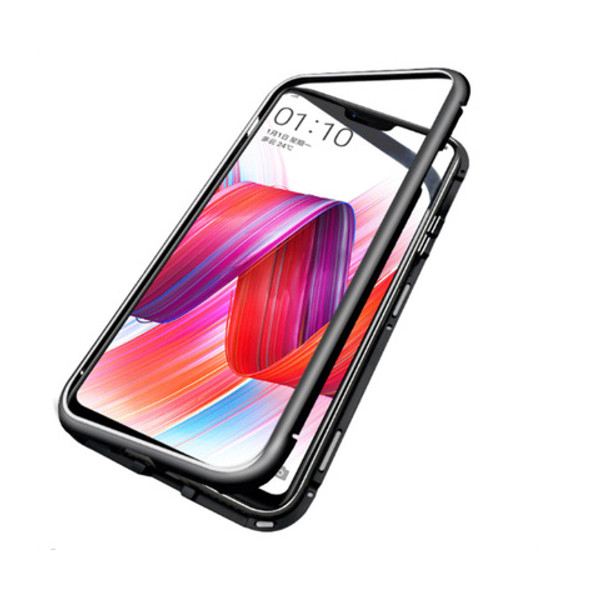 Bakeey 360 Magnetic Adsorption Metal Tempered Glass Flip Protective Case for Xiaomi Pocophone F1