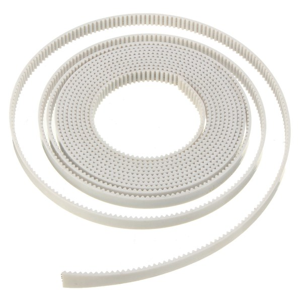 2M GT2 2GT Width 6mm White Open Timing Belt For 3D Printer
