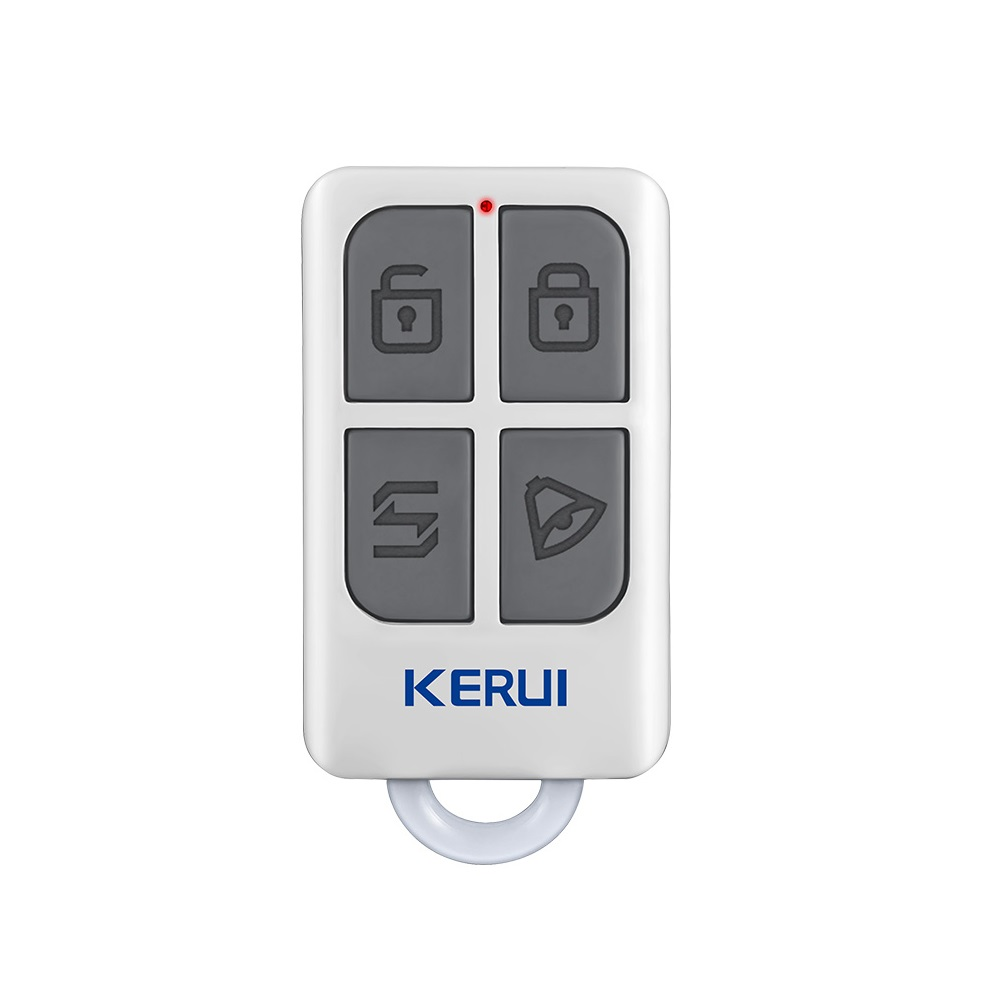 KERUI RC531 Portable Wireless Intelligent Remote Control 433MHz Arm Disarm Stay Arm Emergency