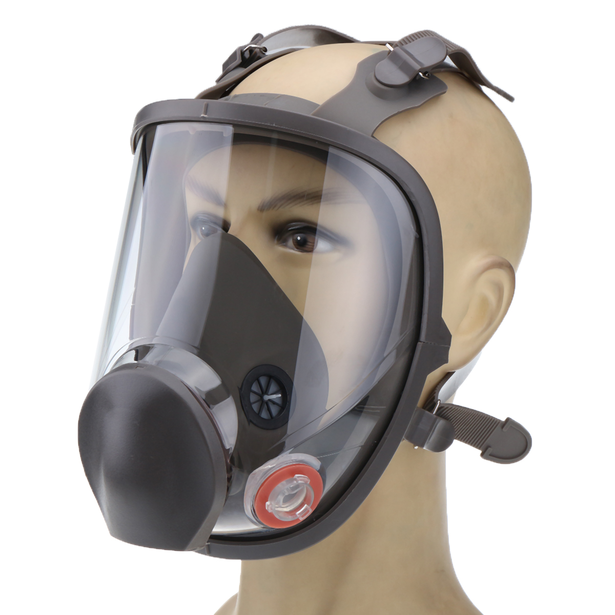 Silicone Facepiece Respirator 6800 Full Face Gas Mask Painting Spraying Protective Mask