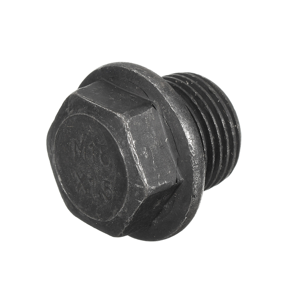 M18x1.5 Thread Mild Steel Hex Bolt Bung Plug For Oxygen Sensor Bung