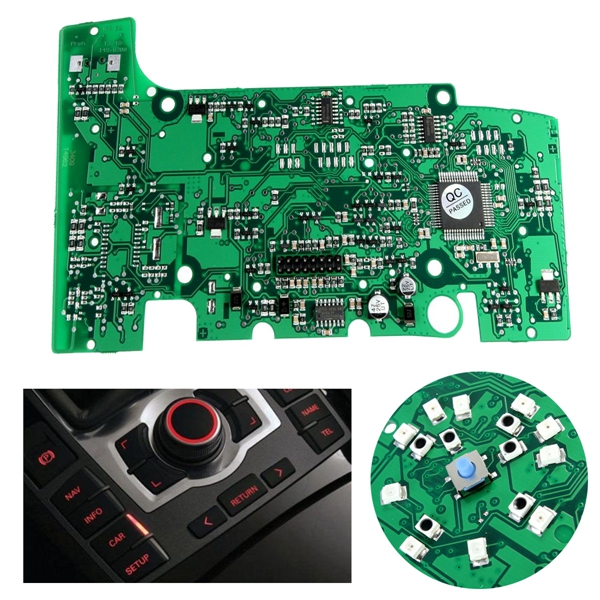 E380 MMI Multimedia Control Panel With Navigation System Panel Key Board Electrical Circuit Board For AUDI A6L