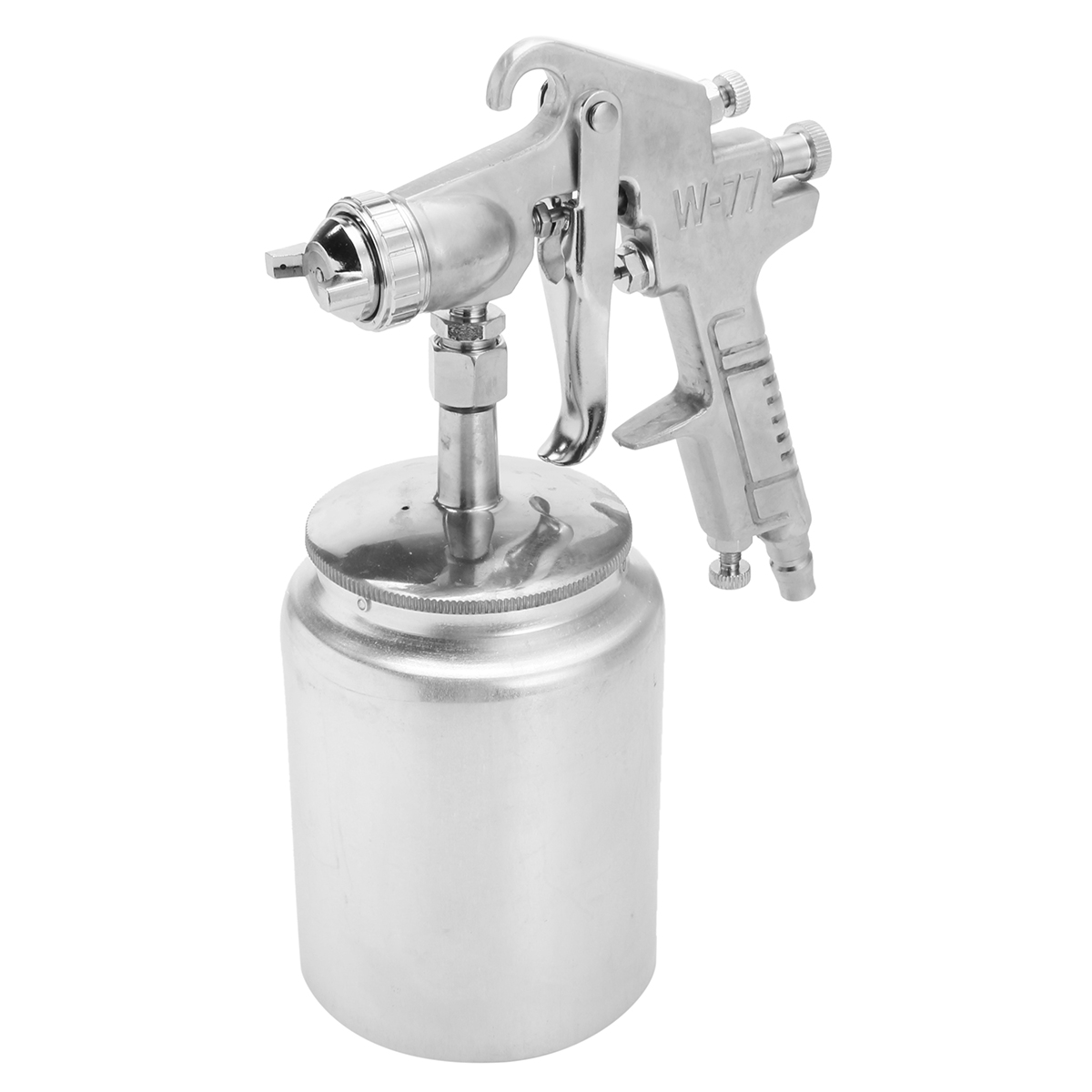 Heavy Duty Paint Suction Feed Spray Gun 3mm Large Nozzle 1L Pot Set-Up Sprayer