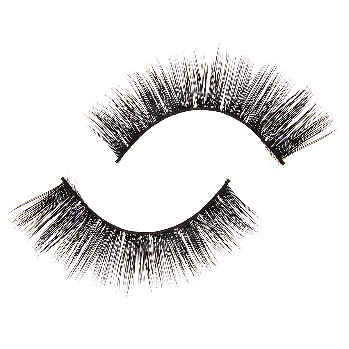 3D Mink Hair Black False Eyelashes Makeup Cosmetics Handmade Thick Natural Long