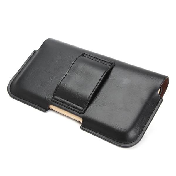 Universal Leather Wallet Pouch Waist Bag Case For Phone From 5.1 to 6.3 inch