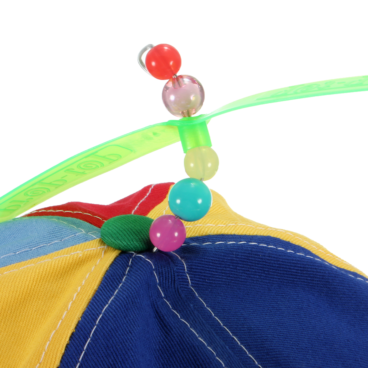 Women Copter Helicopter Propeller Hat Multi-color Patchwork Dragonfly Top Ball Cap