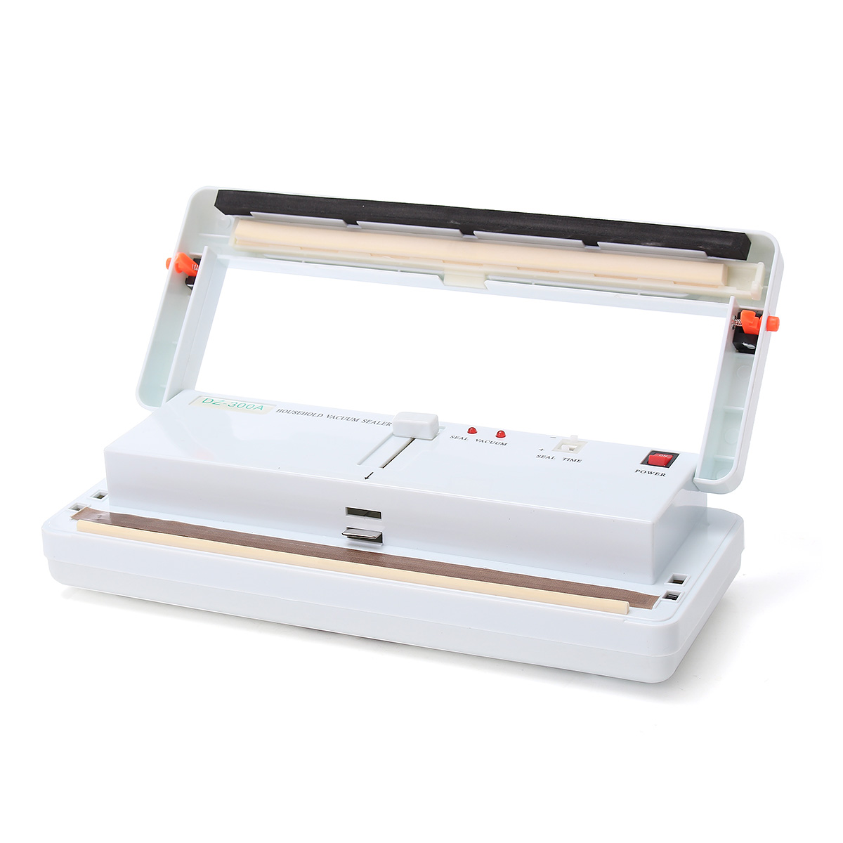 220V 50Hz Food Saver Vacuum Sealers System Kitchen Storage Bag Packaging Machine 40-28mm