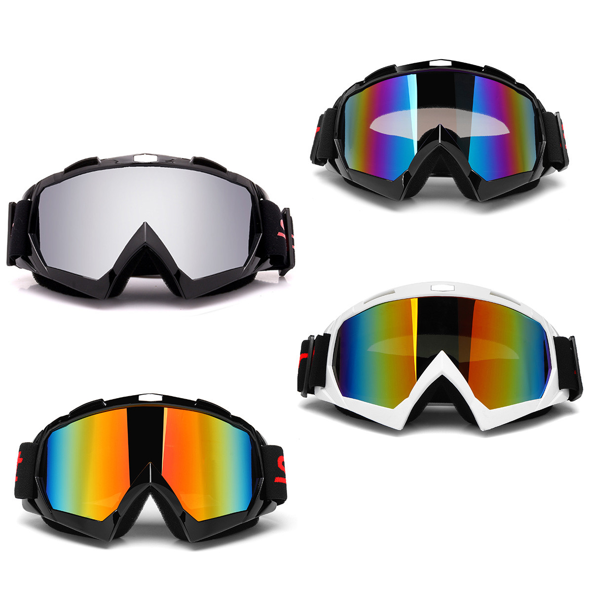 Double Lens Anti-fog Skiing Snowboarding Sun Snow Ski Goggles Motorcycle UV400