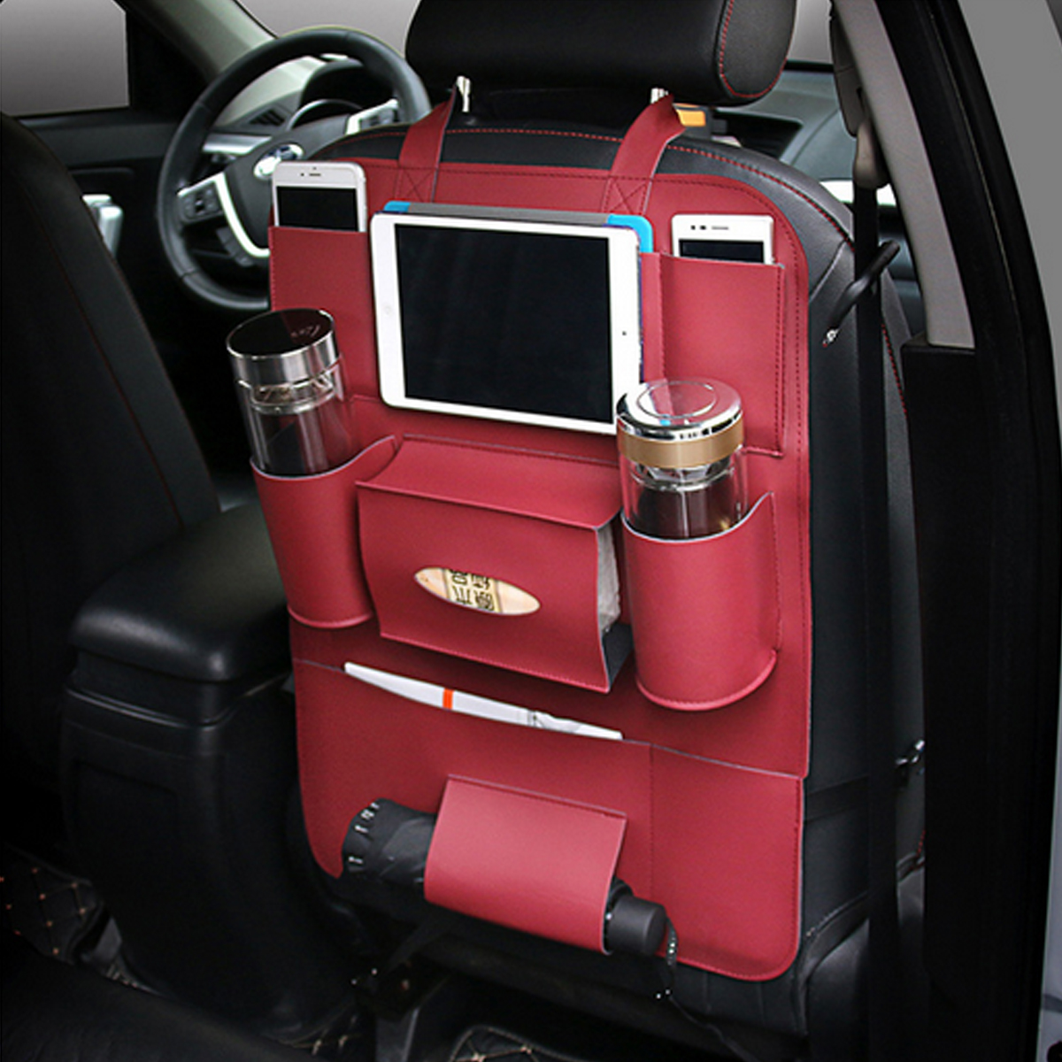 1 X Car Back Seat Storage Bag. , , , , , , ...
