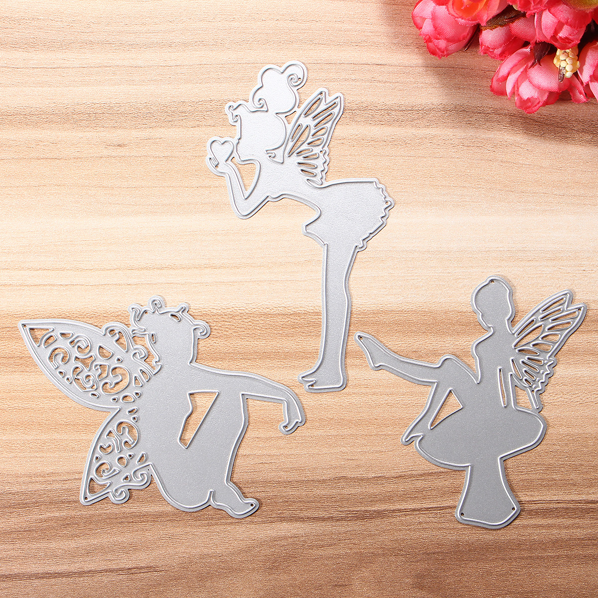 DIY Scrapbook Photo Paper Elf Series Cutting Dies