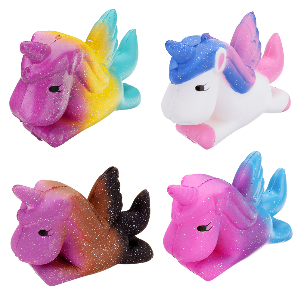 Unicorn Pegasus Squishy 11*9cm Slow Rising Soft Collection Gift Decor Toy