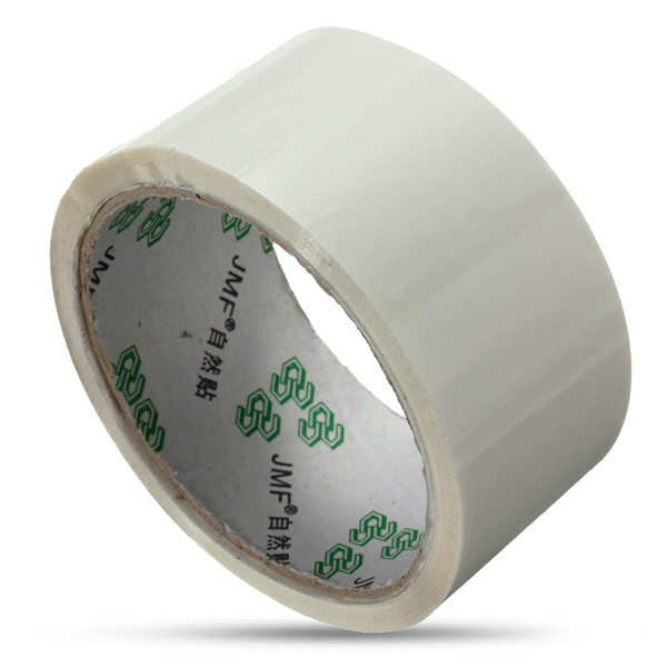 45mm x 50m Milky Stick Seal Ring Packaging Wrapping Tape