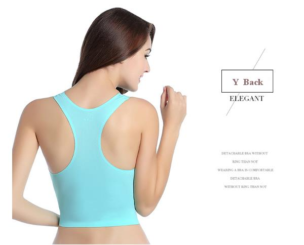 Ice Silk Wireless Seamless Sports Bra