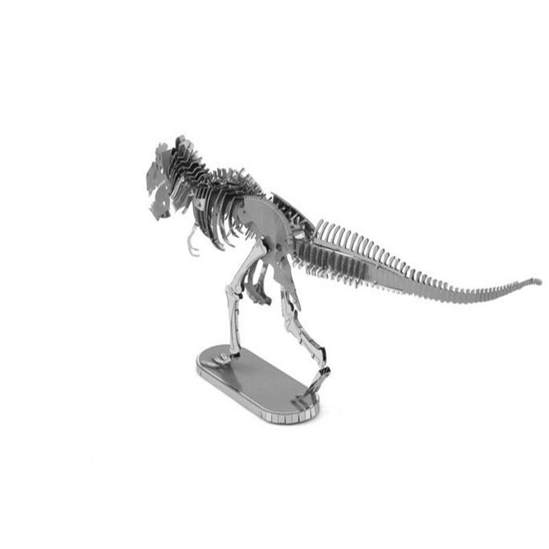 Aipin DIY 3D Metal Puzzle Stainless Steel Assembled Model Tyrannosaurus Rex Crown For Kids Toys