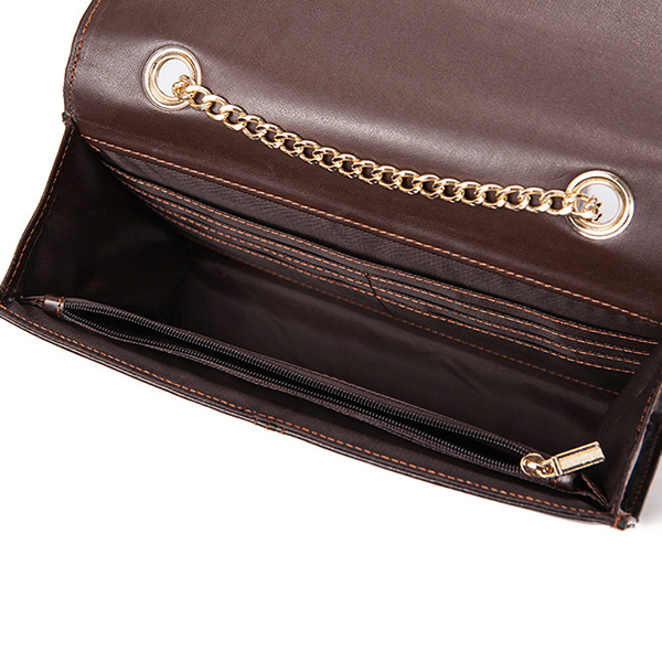 Women High Quality Genuine Leather Chain bag Crossbody Bag
