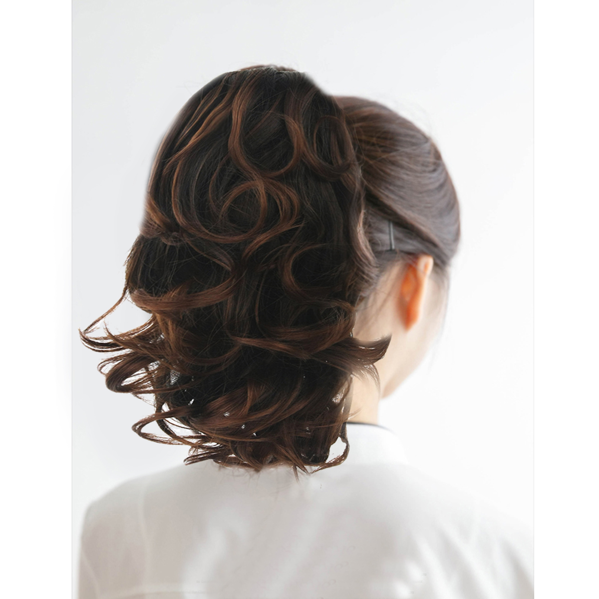 Claw Thick Wavy Curly Tail Long Layered Ponytail Clip Hair Extension