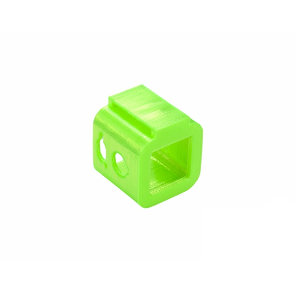 RJX Mini Camera Mount TPU Protective Case 3D Printed for FOXEER BOX 4K FPV RC Racing Drone Green Black
