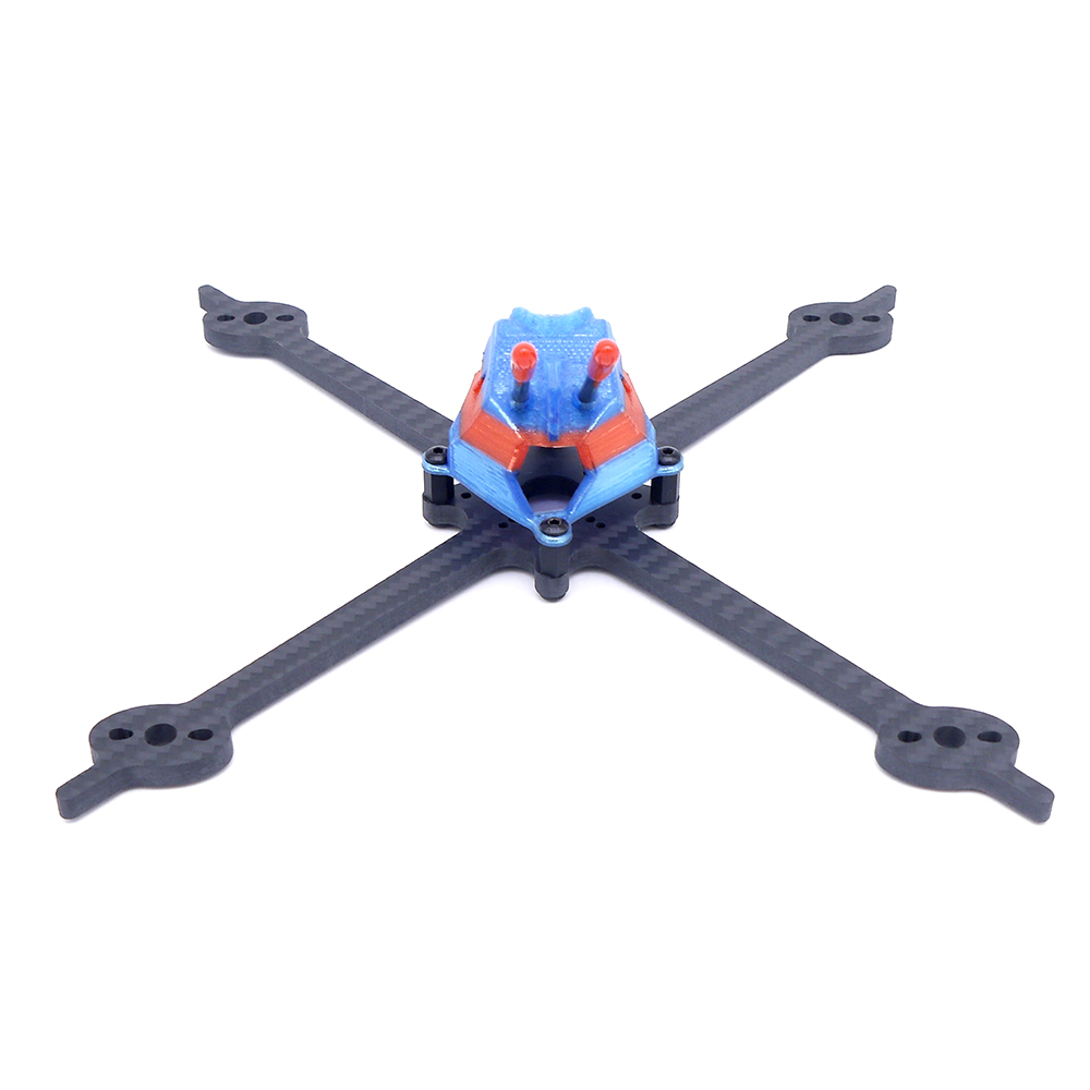 Apro 200 5 Inch 200mm Wheelbase Type-X 5mm Bottom Plate Toothpick Frame Kit for RC FPV Racing Drone