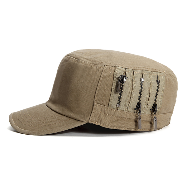 Mens Casual Cotton Baseball Caps Outdoor Army Durable Flat Top Hats Adjustable