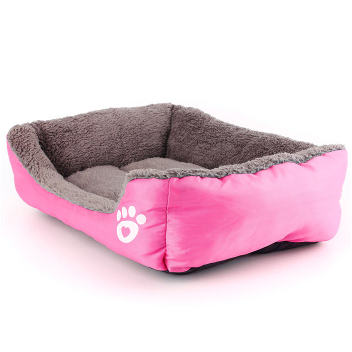 S Size Dog Cat Pet Puppy Kennels Beds Mat Houses Dog House Warm Soft Pad Blanket