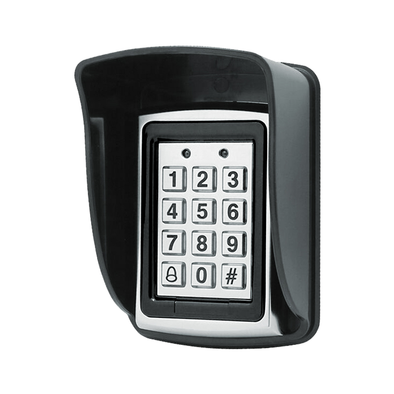 Waterproof Cover For Rfid Metal Access Control Keypad Rain Cover Black Rainproof Shell