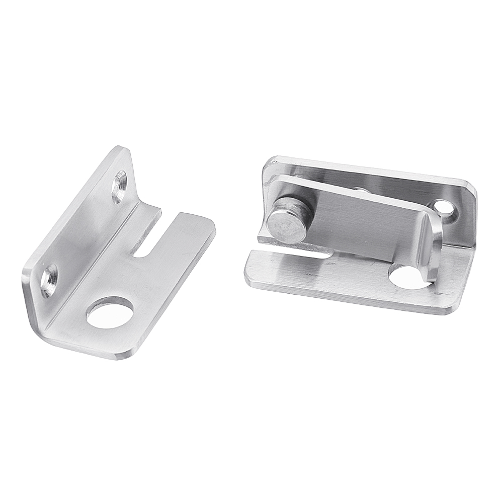 Stainless Steel Muti Purpose Door Lock Buckle Sliding Lock Bolt Latch Hasp For Window Door Gate Safe