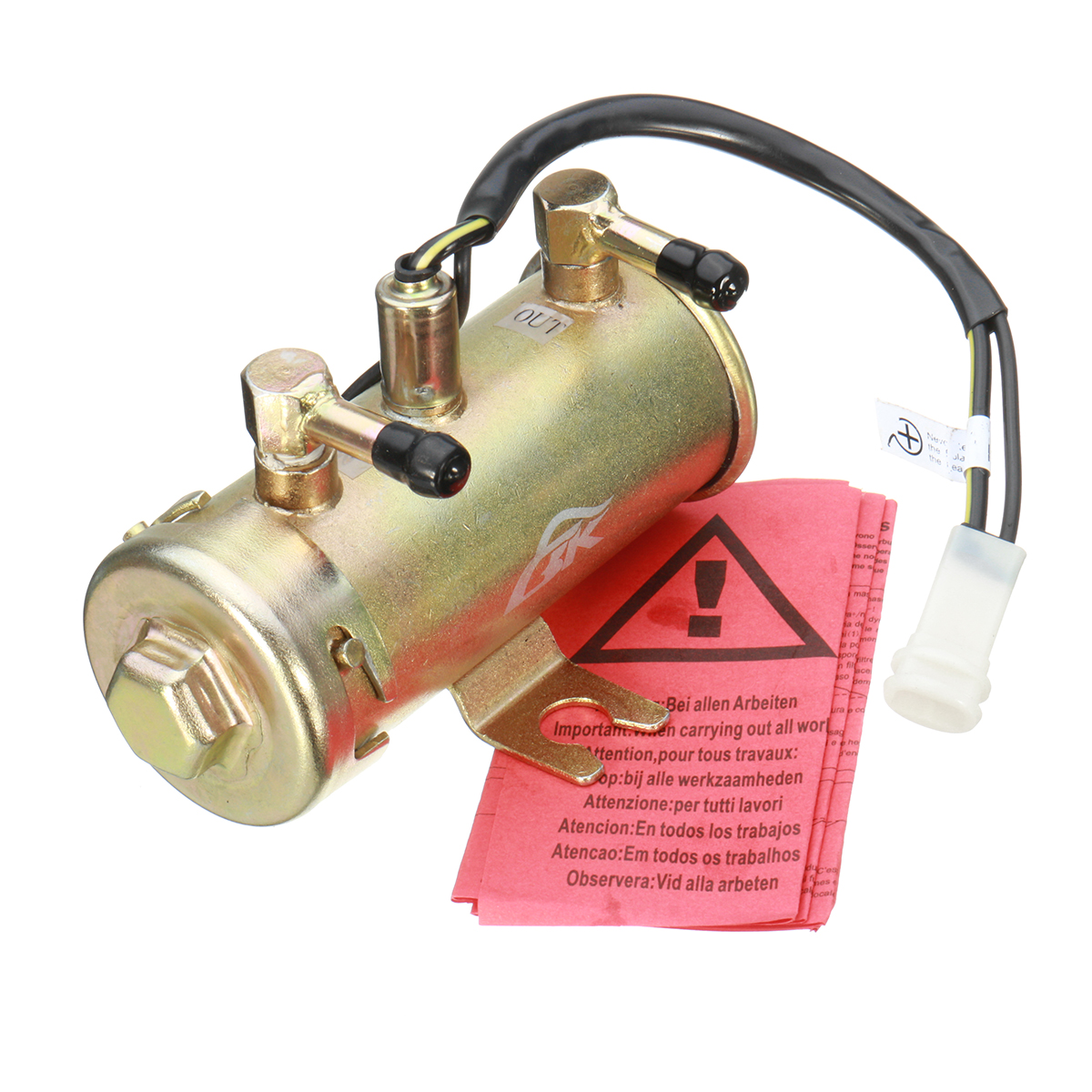 12V Facet Red Top Style Electric Fuel Diesel Fuel Pump Kit Universal