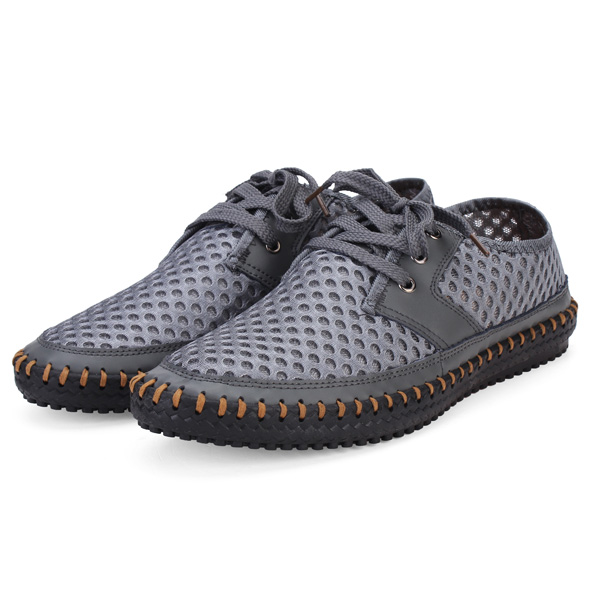 Mens Breathable Flexible Low Top Shoes Sneakers