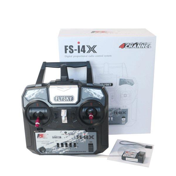 Flysky FS-i4X 2.4G 4CH AFHDS RC Transmitter Remote Control With FS-A6 Receiver Hialeah Buy stuff