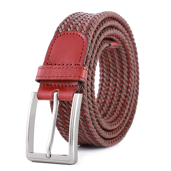Unisex Leisure Canvas Elastic Fabric Woven Belts