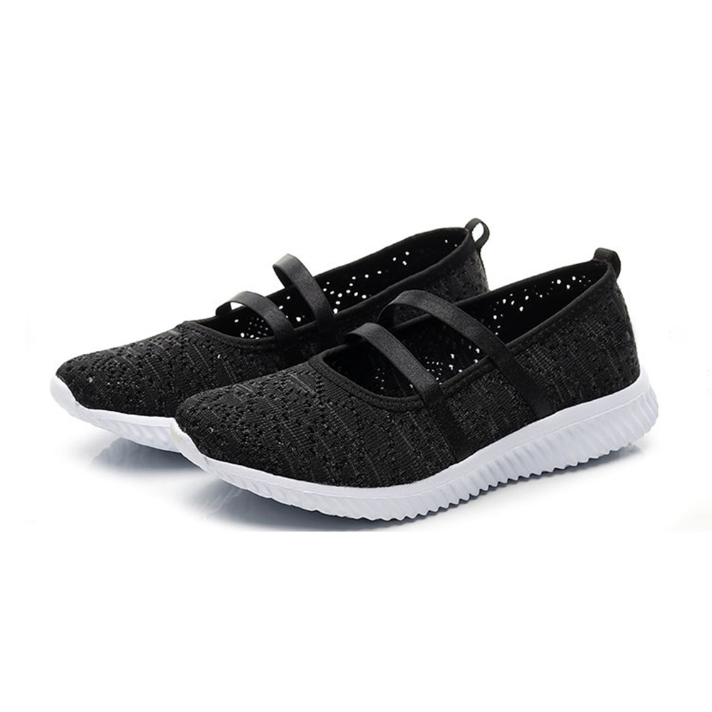 Women Casual Hollow Out Mesh Lightweight Sneakers