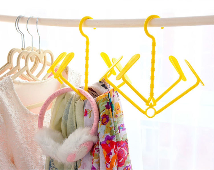 2018 Plastic Shoe Clothes Socks Shorts Underwear Drying Rack Hanger Hook