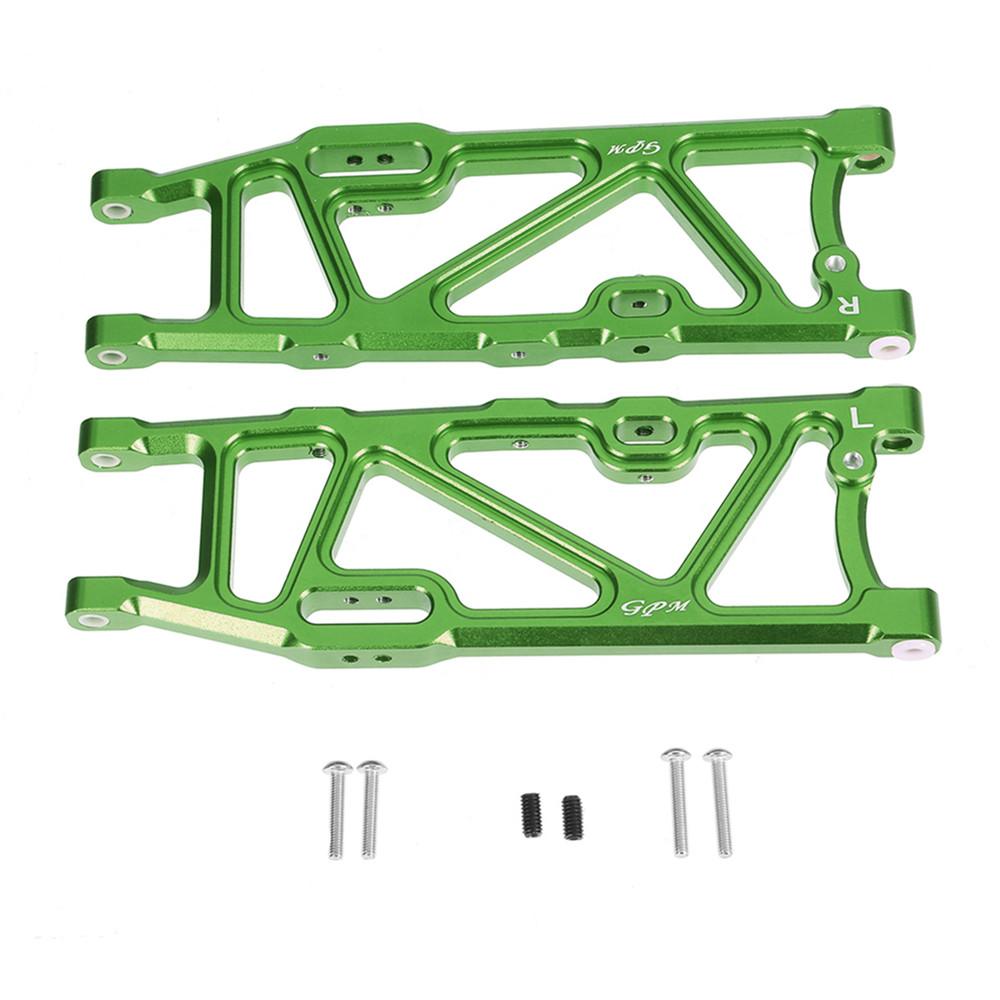 2PCS GPM 1/8 Scale RC Car Alloy Rear Lower Arm Upgrade Parts Set for Arrma Kraton 6S BLX
