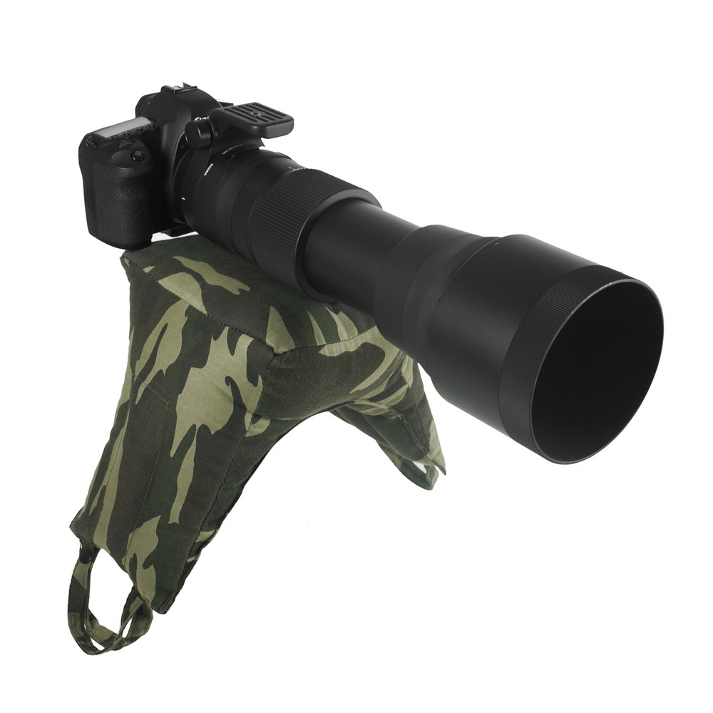 Meking Camouflage Wildlife Bird Watching Camo Photography Camera Stabilizer Bag For Hunting Animal Photo Shooting