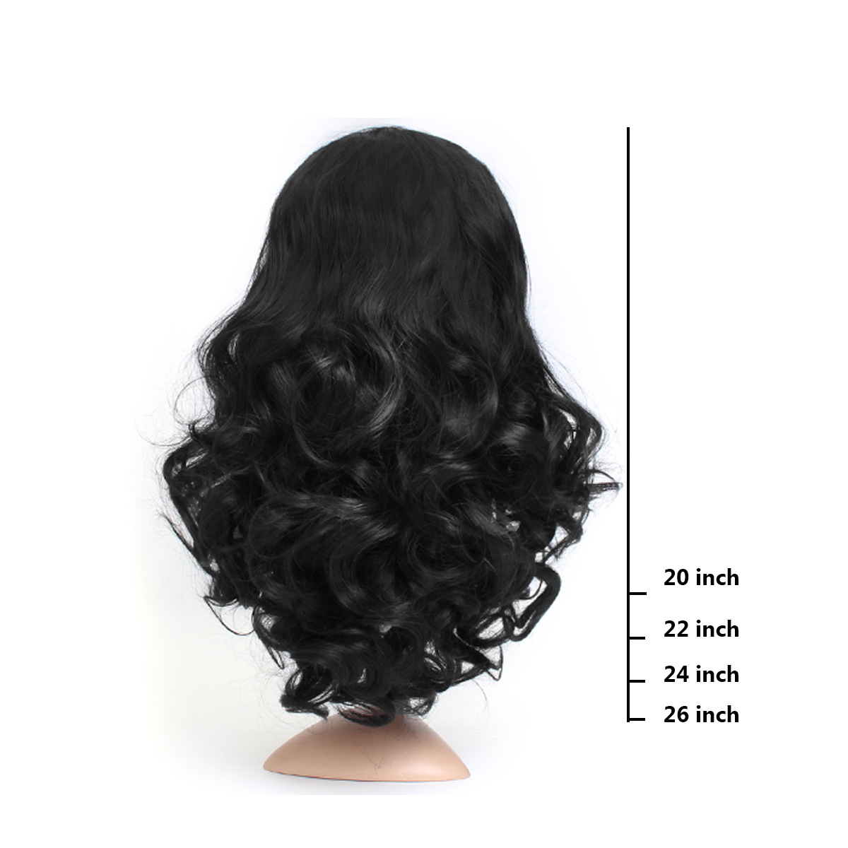 24'' Lady Wavy Full Lace Front Wig