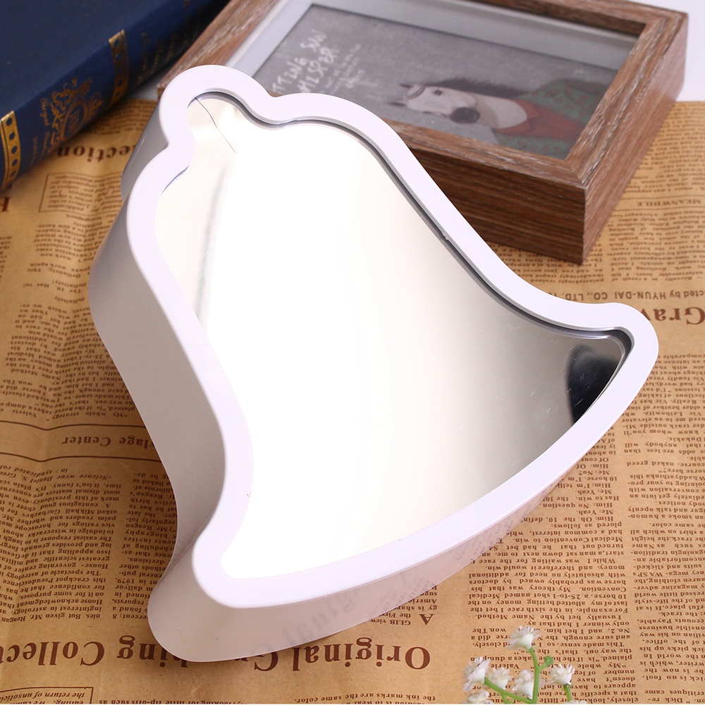 Creative Cute Bell Mirror Lamp LED Tunnel Night Light for Kid Gift Atmosphere Light White/Warm White
