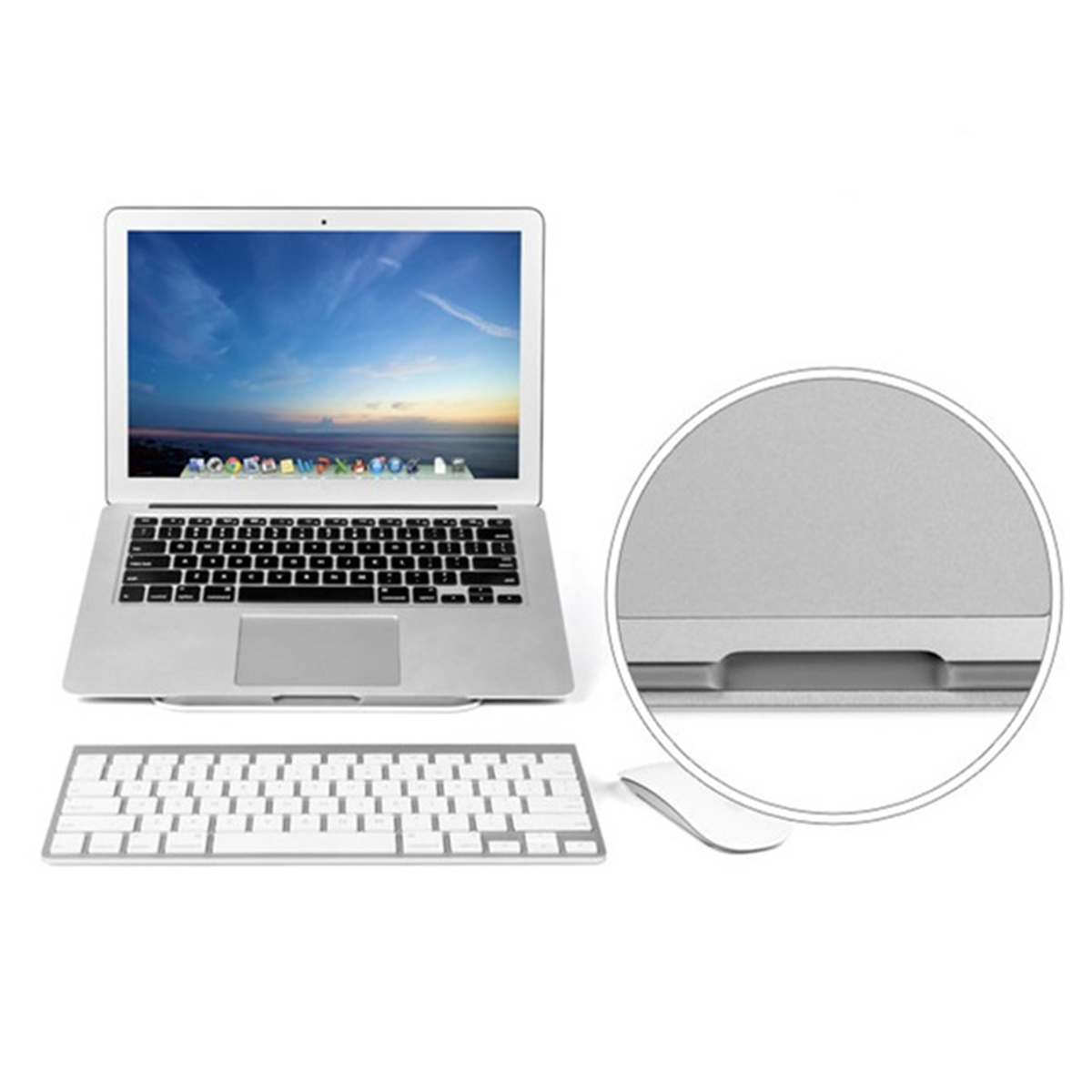 Aluminum Alloy Laptop Stand Holder For 11-15.6 Inch Laptop Notebook Macbook