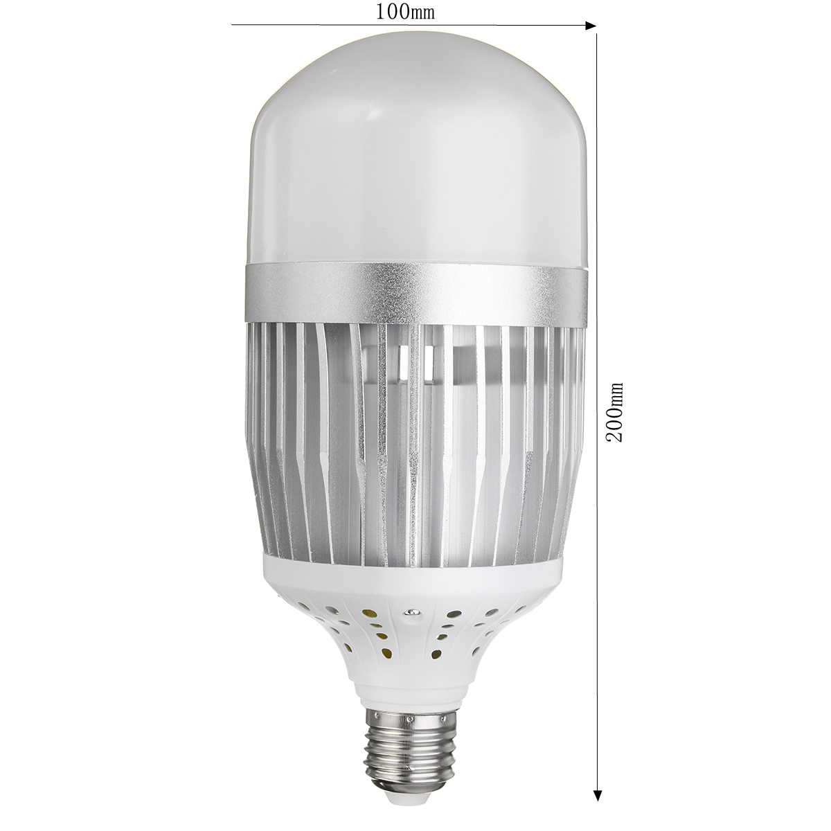 E27 50W SMD3030 30LEDs 100LM/W Warm White Pure White High Bay Light Bulb Factory Lamp AC85-265V