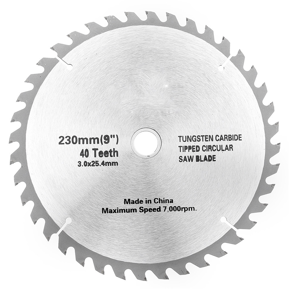Alloy circular saw blade