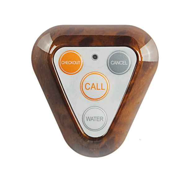 KERUI F66 Wireless Transmitter 4 Keys Calling Button for Restaurant Hotel Call Waiter System 433MHz