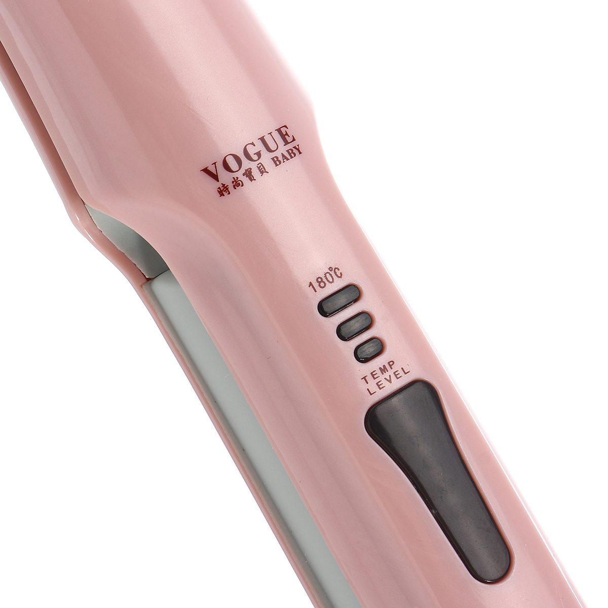 VOGOU 2in1 3D Hair Straightener Curlers Styling Temperature Anion Control Flat Iron Digital