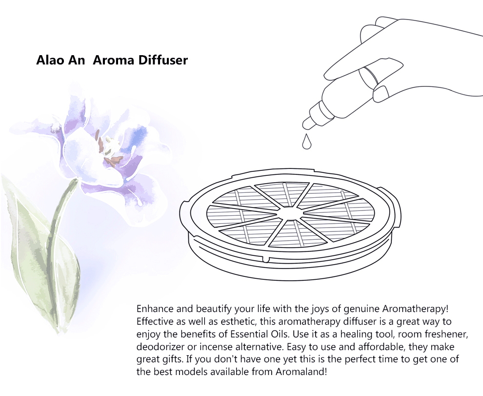 Intelligent Home Air Purifier Aromatherapy Anion