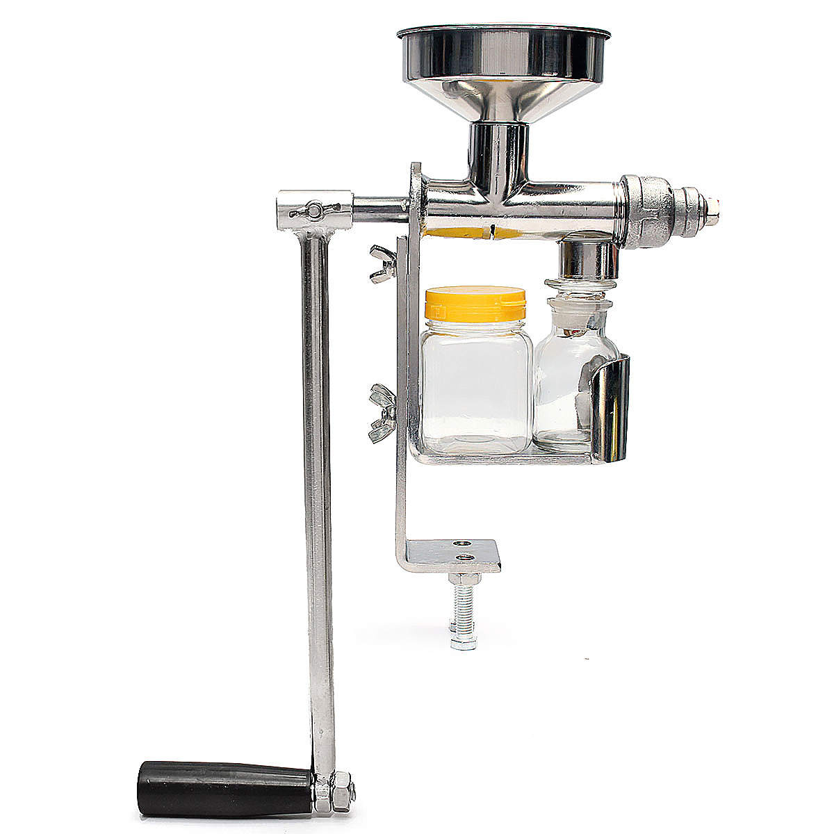 Stainless Steel Fuselage Hand Press Manual Small Oil Machine Oil Expeller