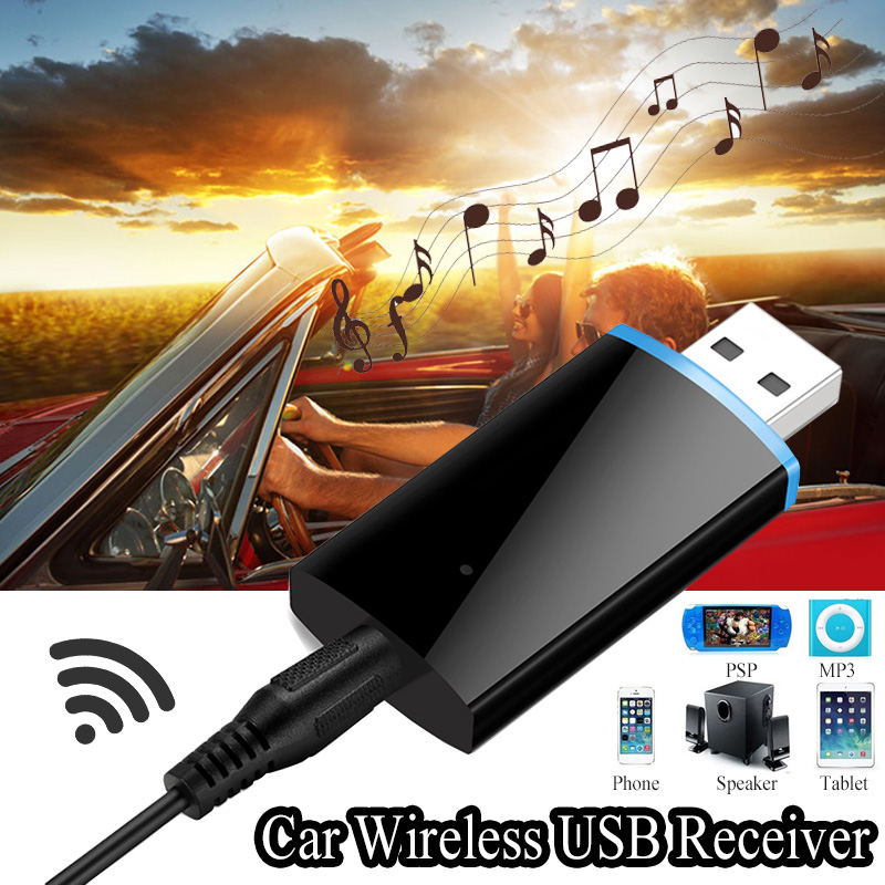 Bakeey Wireless bluetooth 4.1 Stereo Audio USB Car Kit Music Receiver Adapter