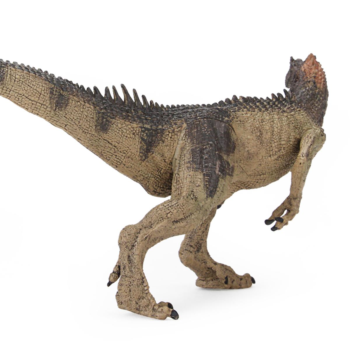 Realistic Dinosaurs Allosaurus Figure Jurassic Prehistoric Animal Diecast Model Toy