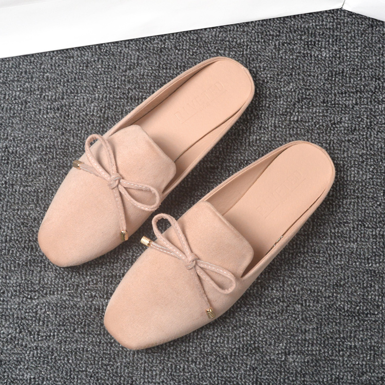 Large Size Slip On Casual Comfy Pure Color Flats Shoes