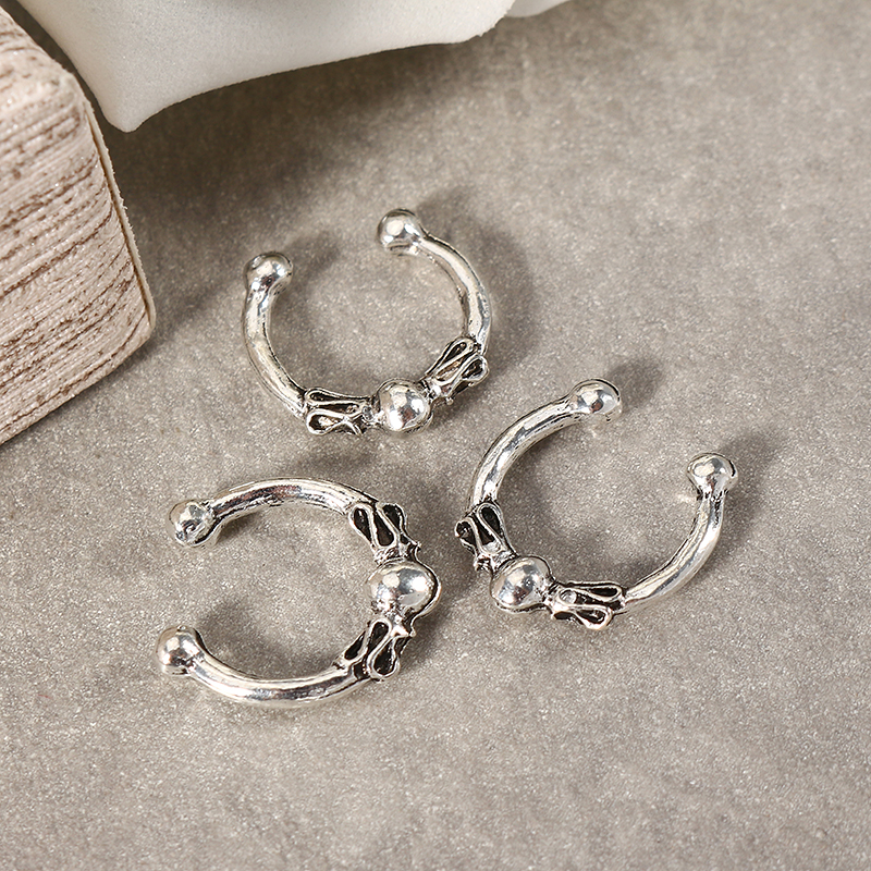 Trendy Elephant Star Moon Ear Clip Gift for Women Girl