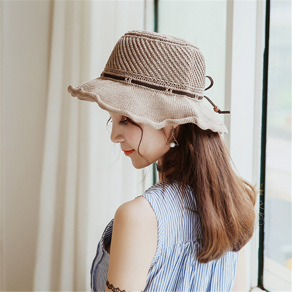 Women Breathable Casual Sunscreen Fisherman Hat
