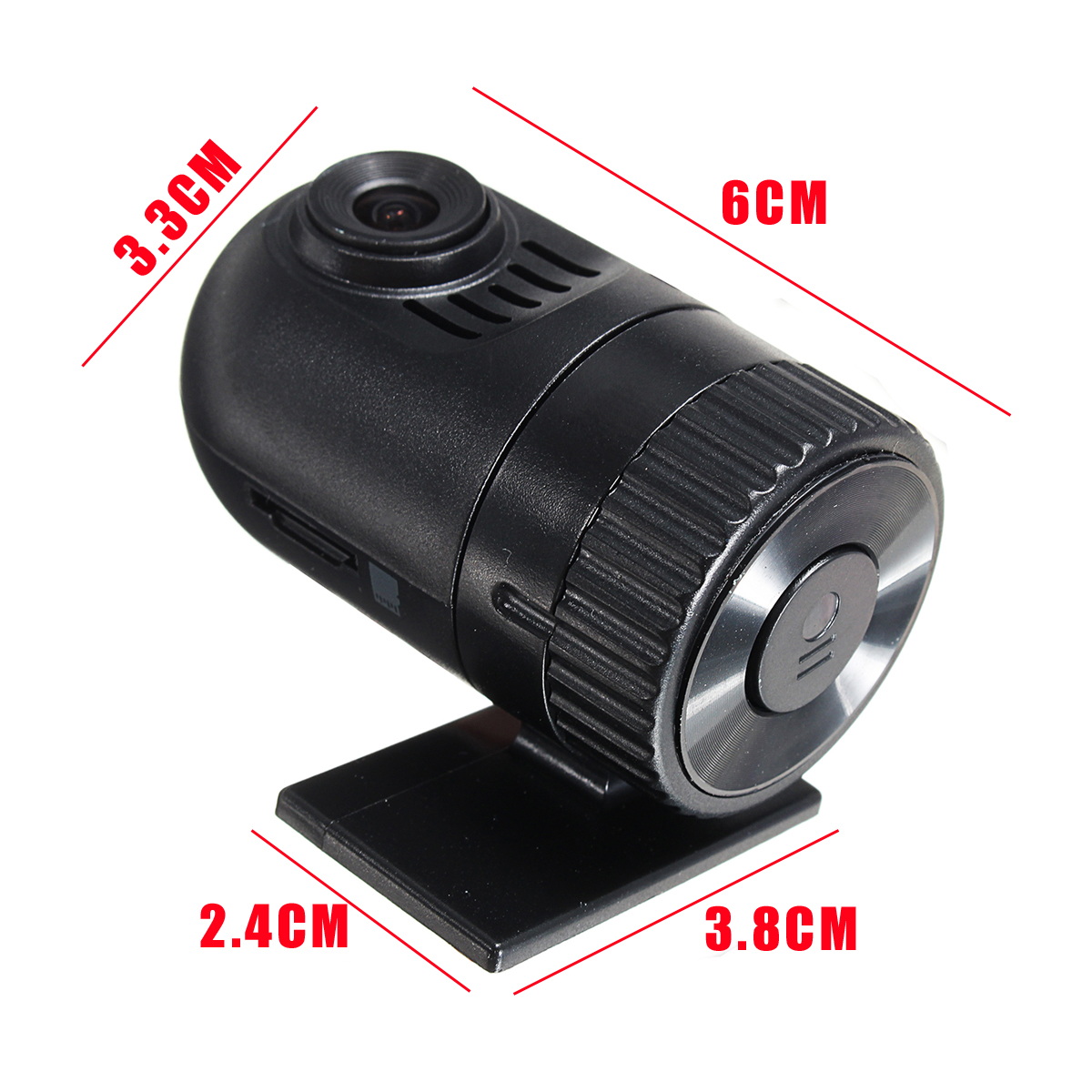 HD Mini Car DVR Video Recorder Camera Hidden Vehicle Dash Cam Night Vision
